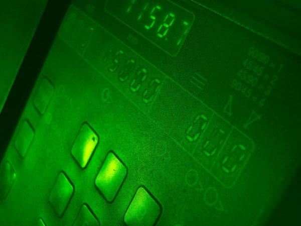 Green Control Panel