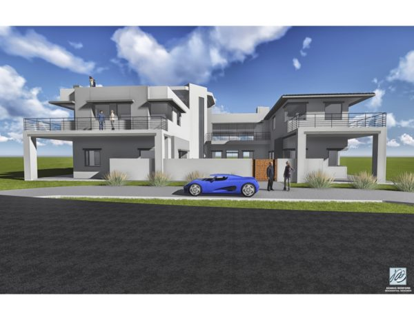 Front Rendering Ground View