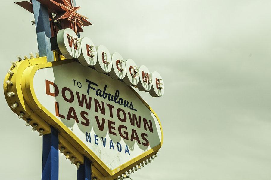 Fabulous Downtown Las Vegas Sign