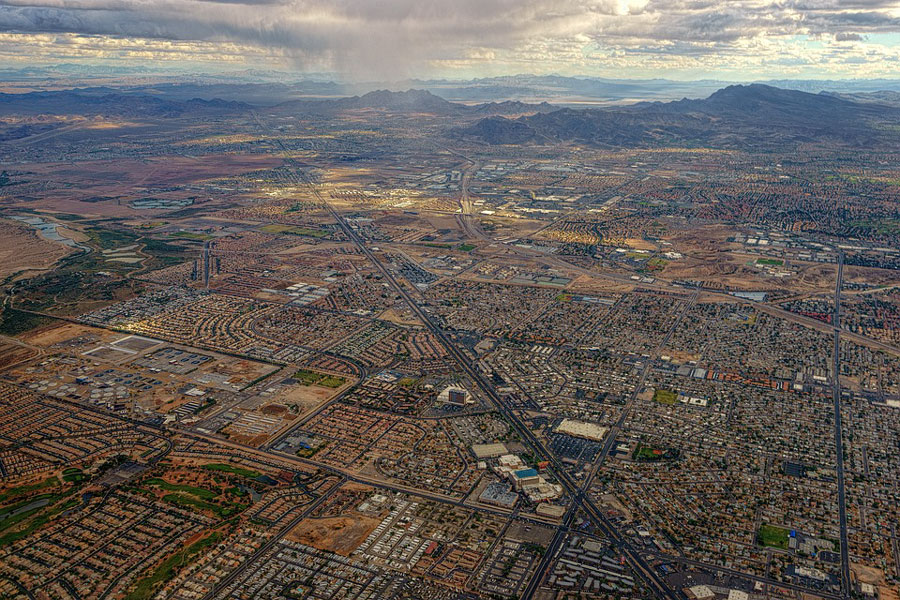 Ariel Photo of Las Vegas