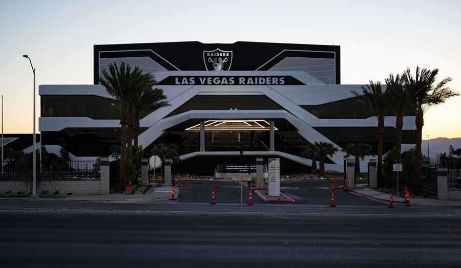NFL Las Vegas Raiders training facility and headquarters in Henderson, Nevada