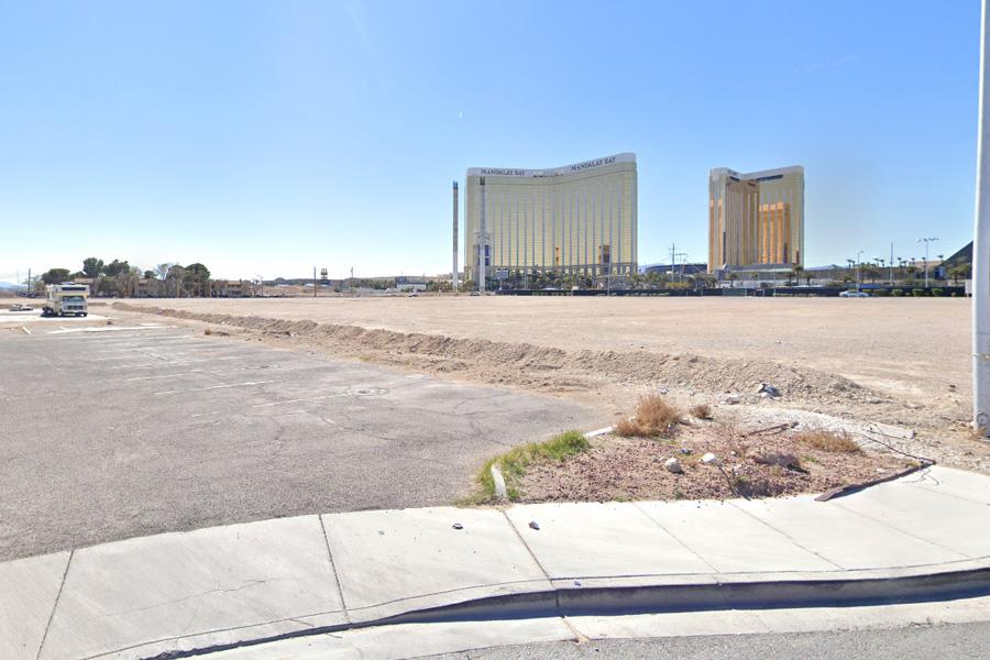 North Dakota tribe bought a vacant Las Vegas lot